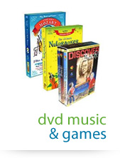 dvd music & games