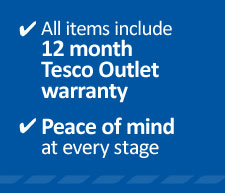 12 Month Tesco Outlet Warranty