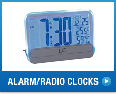 Alarm/Radio Clocks