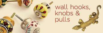 Wall Hooks, Knobs & Pulls
