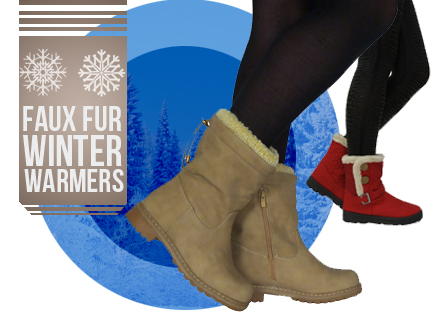 Faux Fur Winter Warmers
