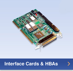 Interface Cards & HBAs