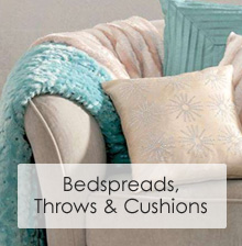 Bedspreads, Throws & Cushions