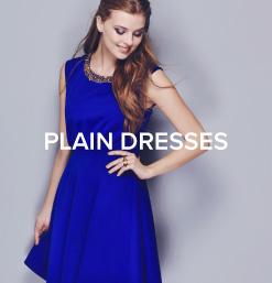 Plain Dresses