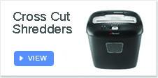 Cross Cut Shredders