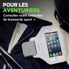 POUR LES AVENTURIERS / Consulter notre collection de brassards sport >