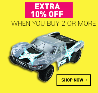 Extra 10% off when you buy 2 or more, on items between £15.01 - £500
